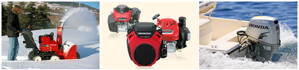 HONDA POWER EQUIPMENT, HONDA ENGINES, HONDA MARINE